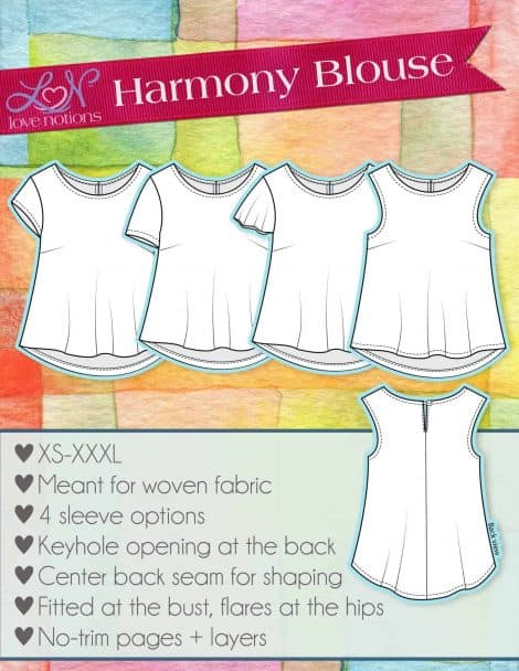 harmony blouse