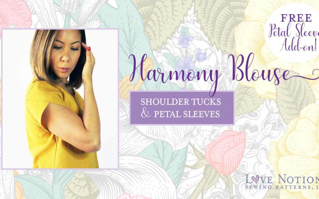 Petal Sleeves and Shoulder Tucks