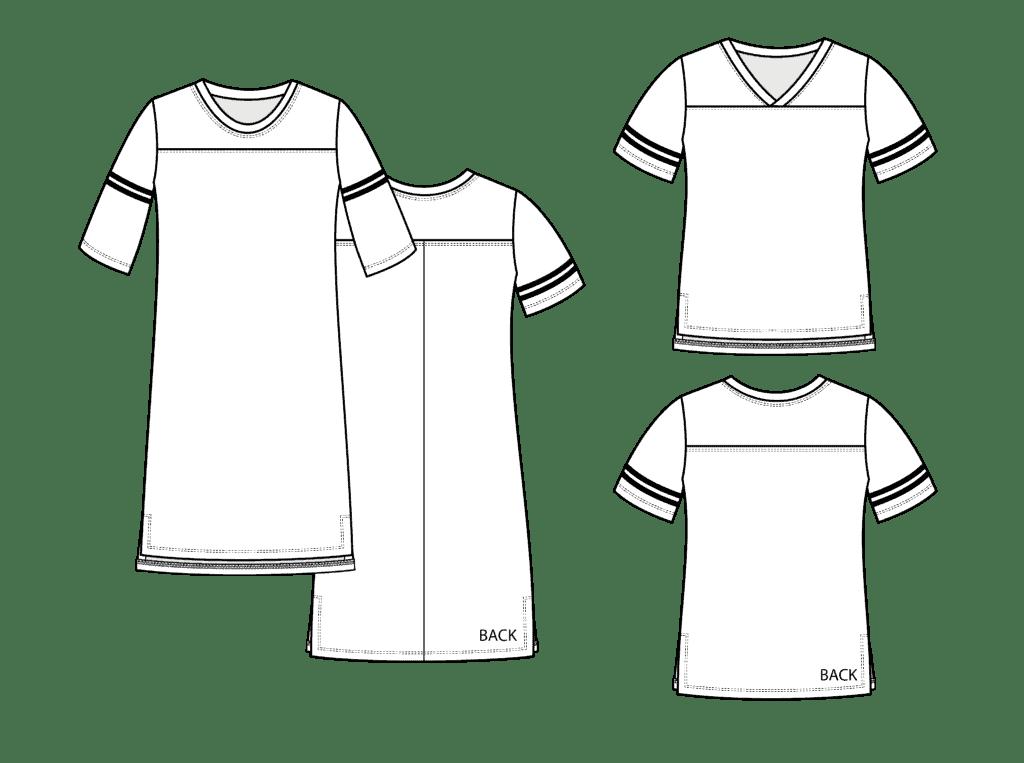 jersey pdf pattern