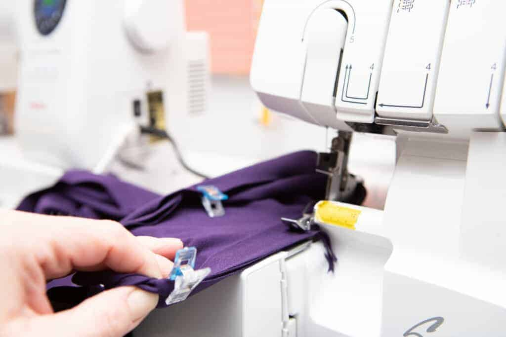 sewing an arm band