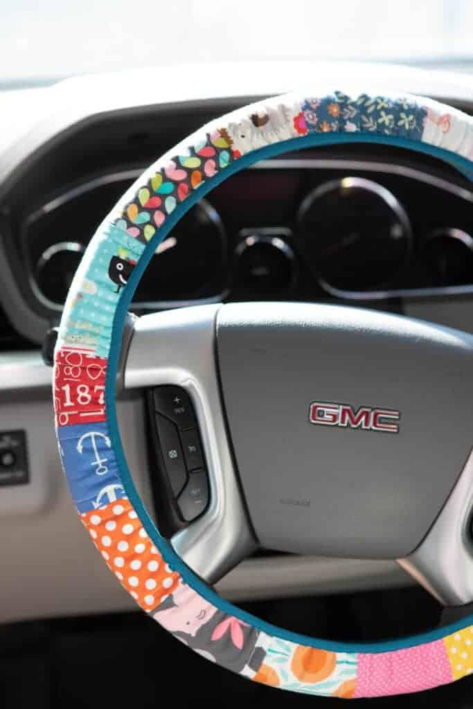 scrappy steering wheel cover