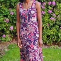 Summer Basics tank and maxi dress pdf pattern