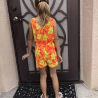 Girls Sunday Romper