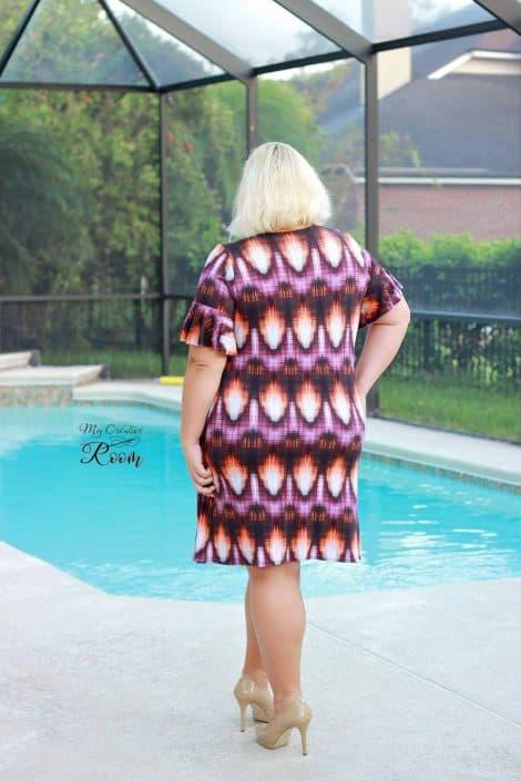 Forte view B dress