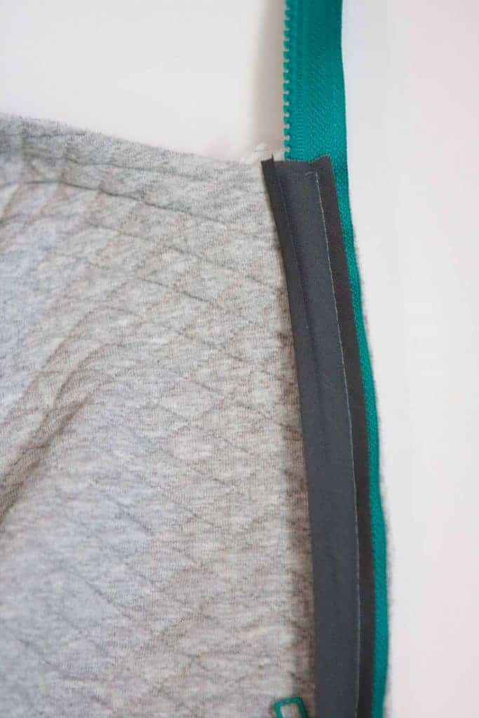 Add a separating zipper to the Samson Sweater