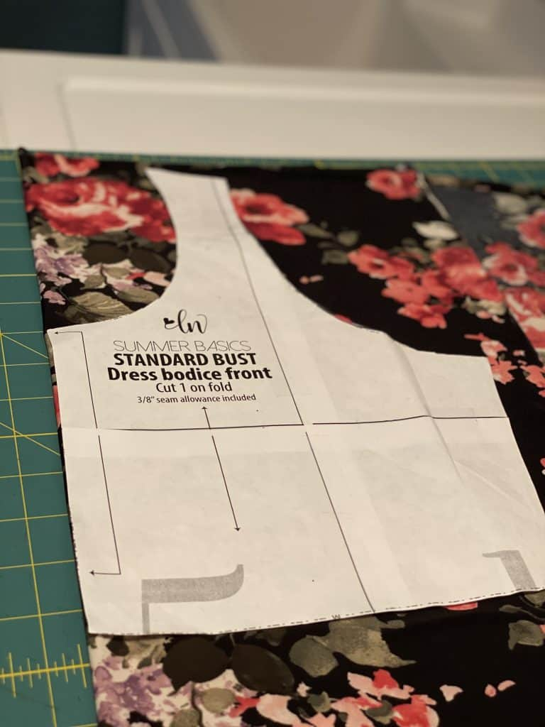 lined bodice