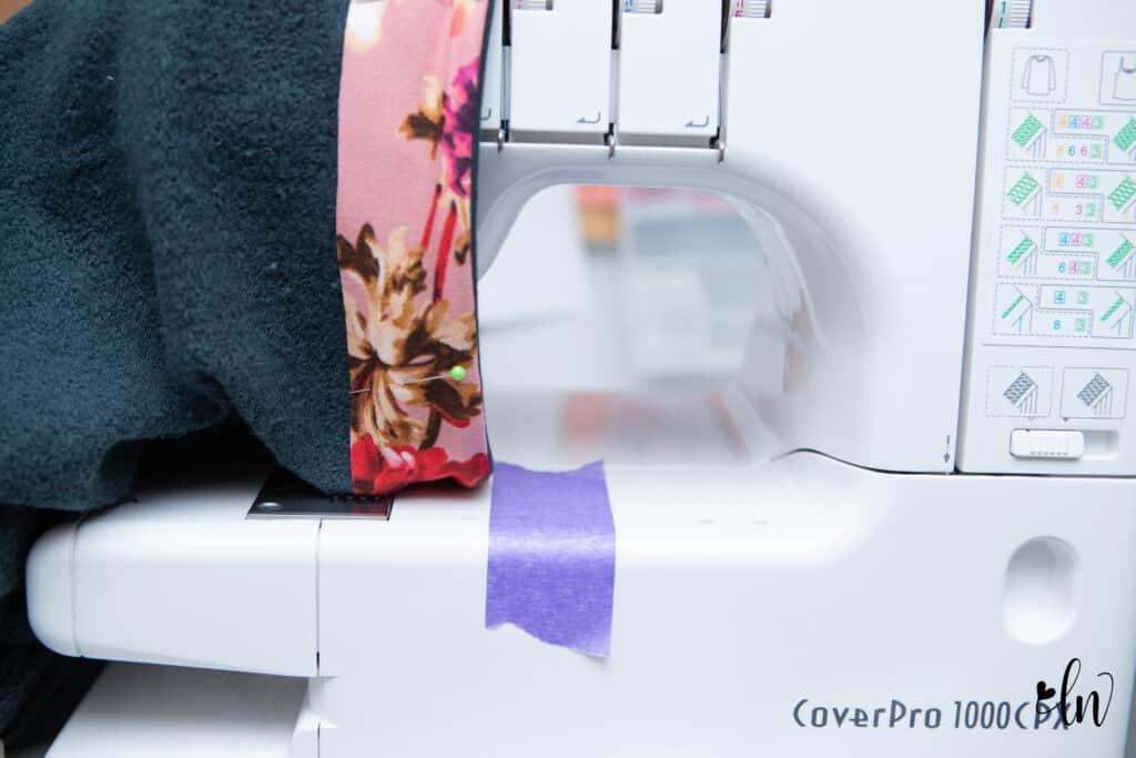sewing whistler hem facing