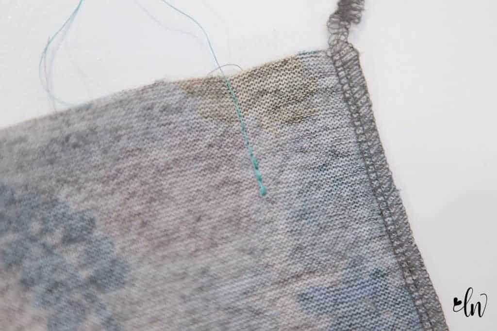 sew a pleat
