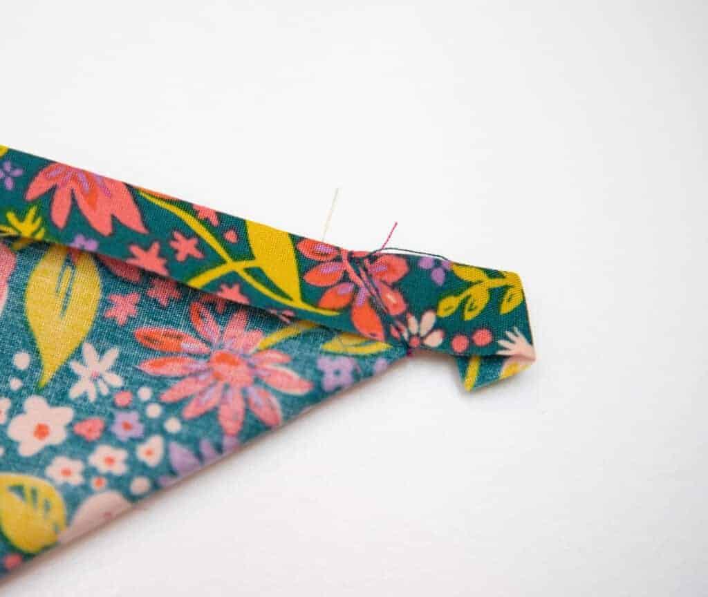 how to sew a cloth napkin