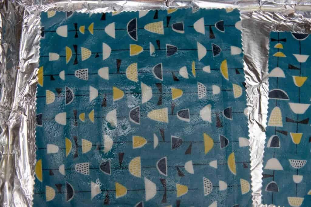beeswax fabric wrap
