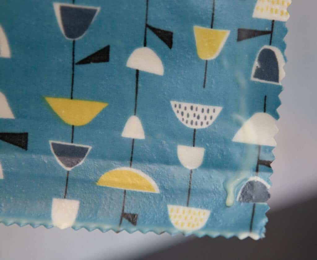 fabric food wrap DIY
