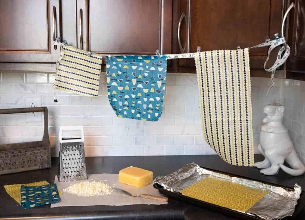 fabric food wrap tutorial