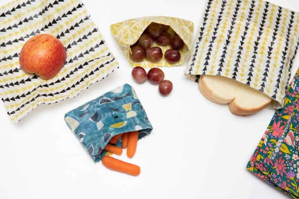 reusable food wrap DIY