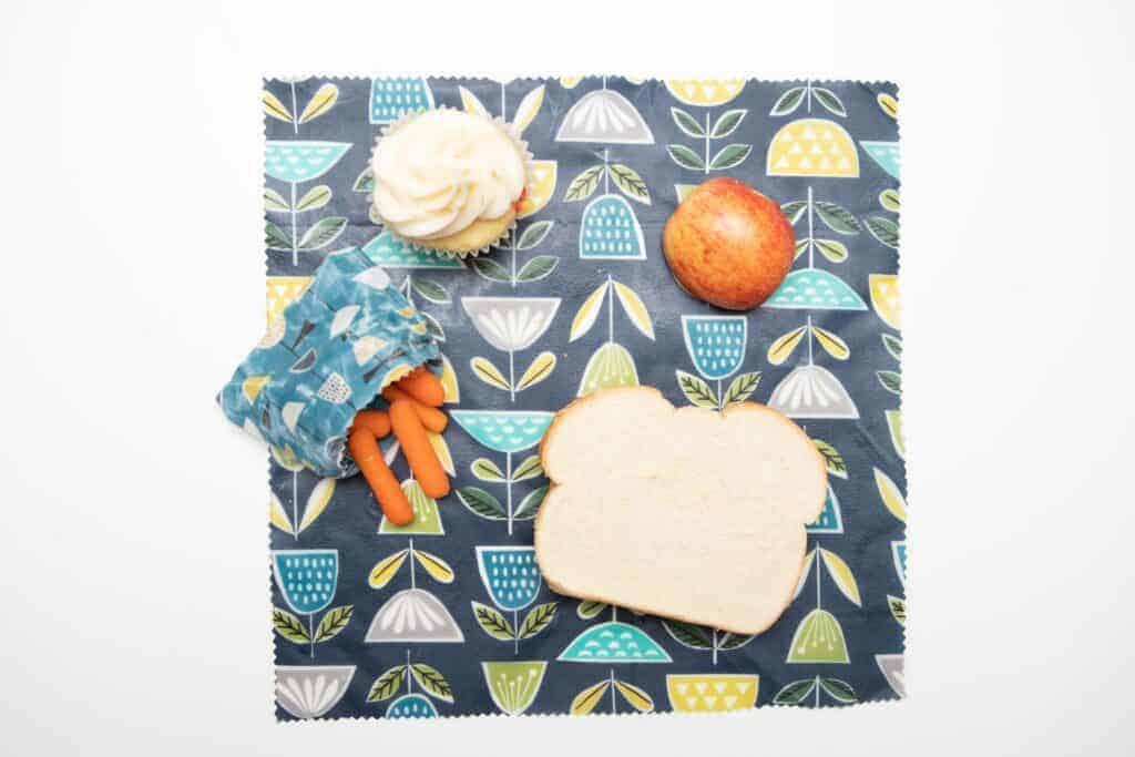 reusable food wrap tutorial