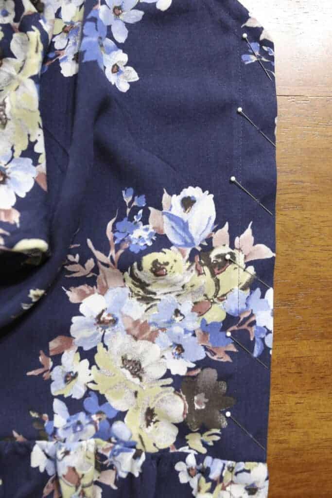 lyric peplum buttonholes