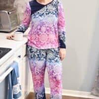 Ladies pajama pdf sewing pattern by Love Notions