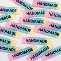 handmade woven garment label
