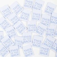 this is the back garment label