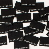 garment sewing labels