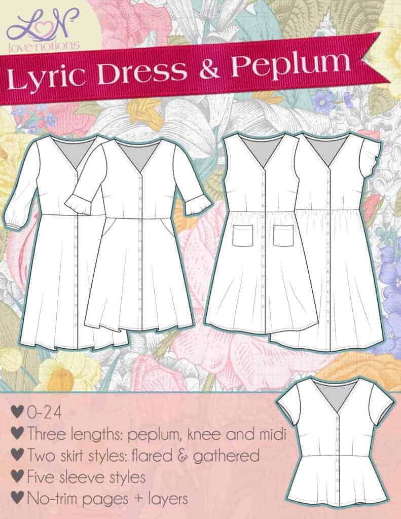 woven dress sewing pattern