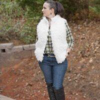 Oakley fur vest