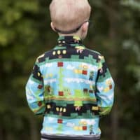 kids hoodie pdf pattern