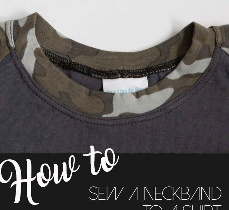 How to attach a neckband