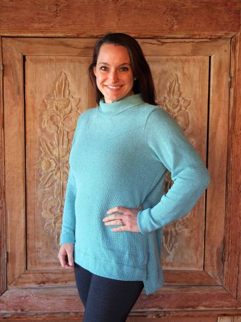 Terra Tunic funnel neck