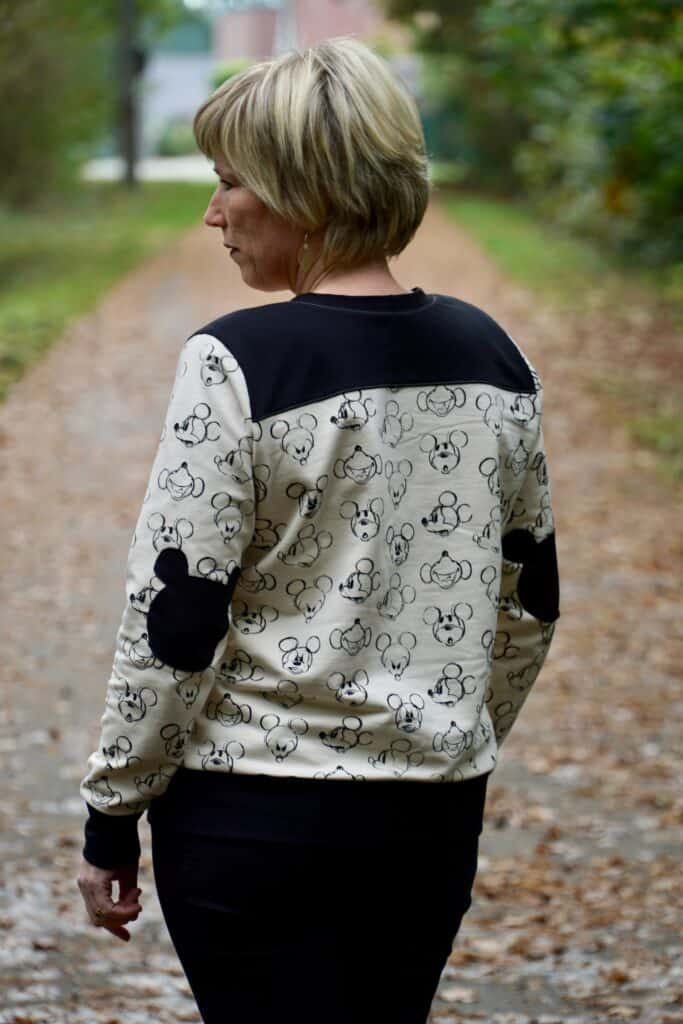 sloane sweater elbow patch