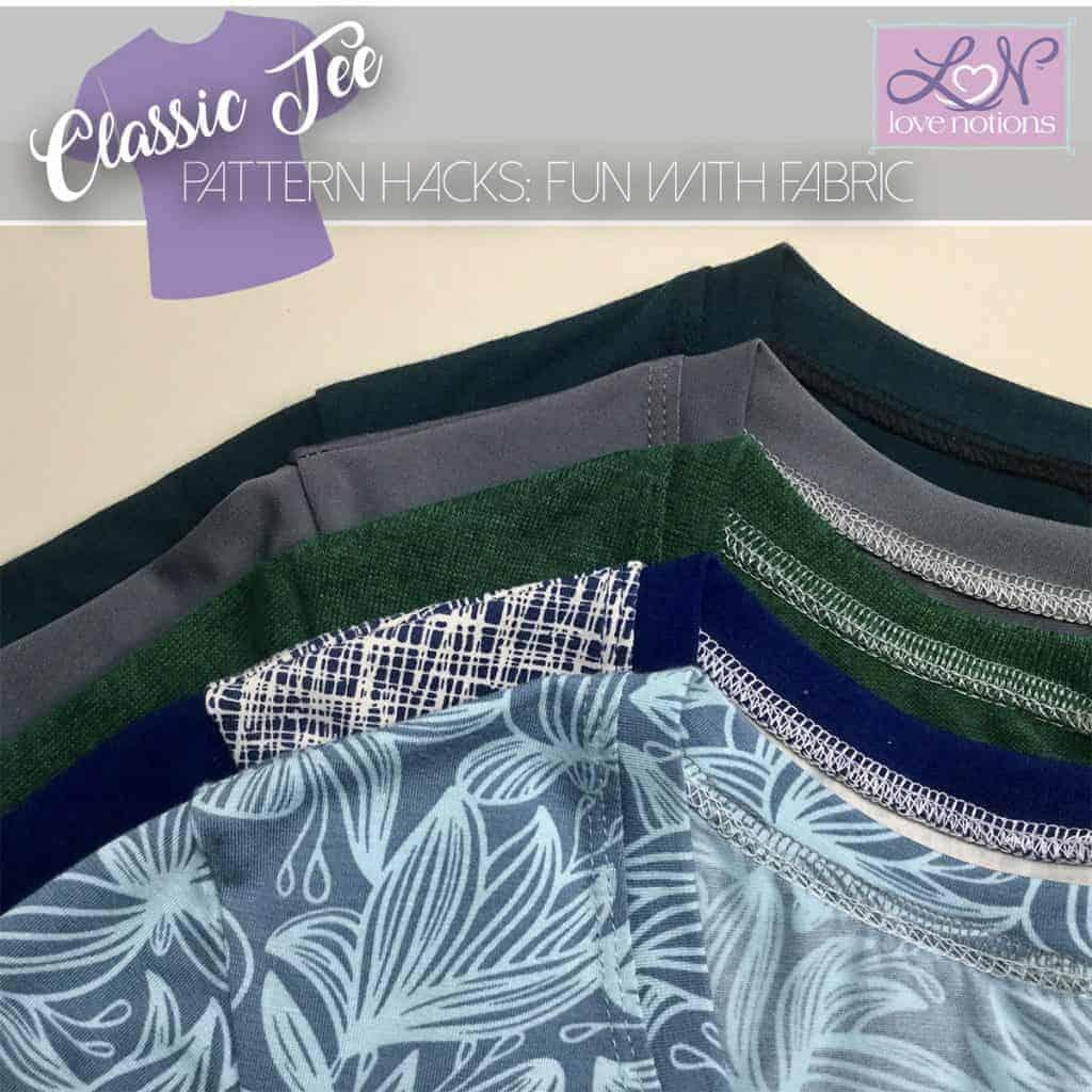 classic tee fabric post