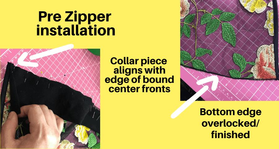 constellation full zip mesh