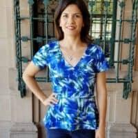 Willow Wrap Dress pdf sewing pattern