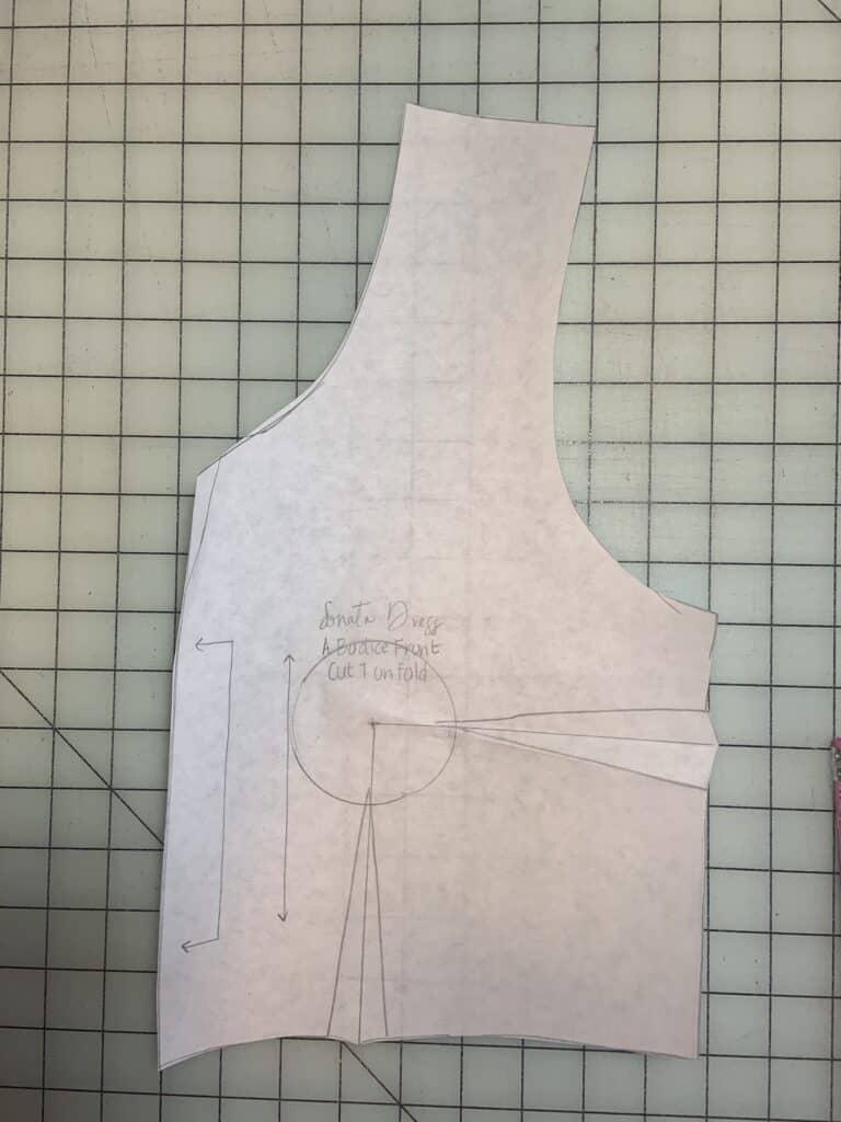 sonata bust darts