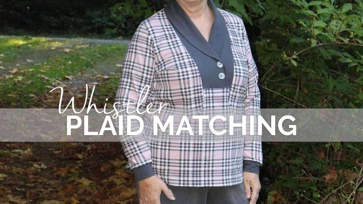 how to match plaid whistler