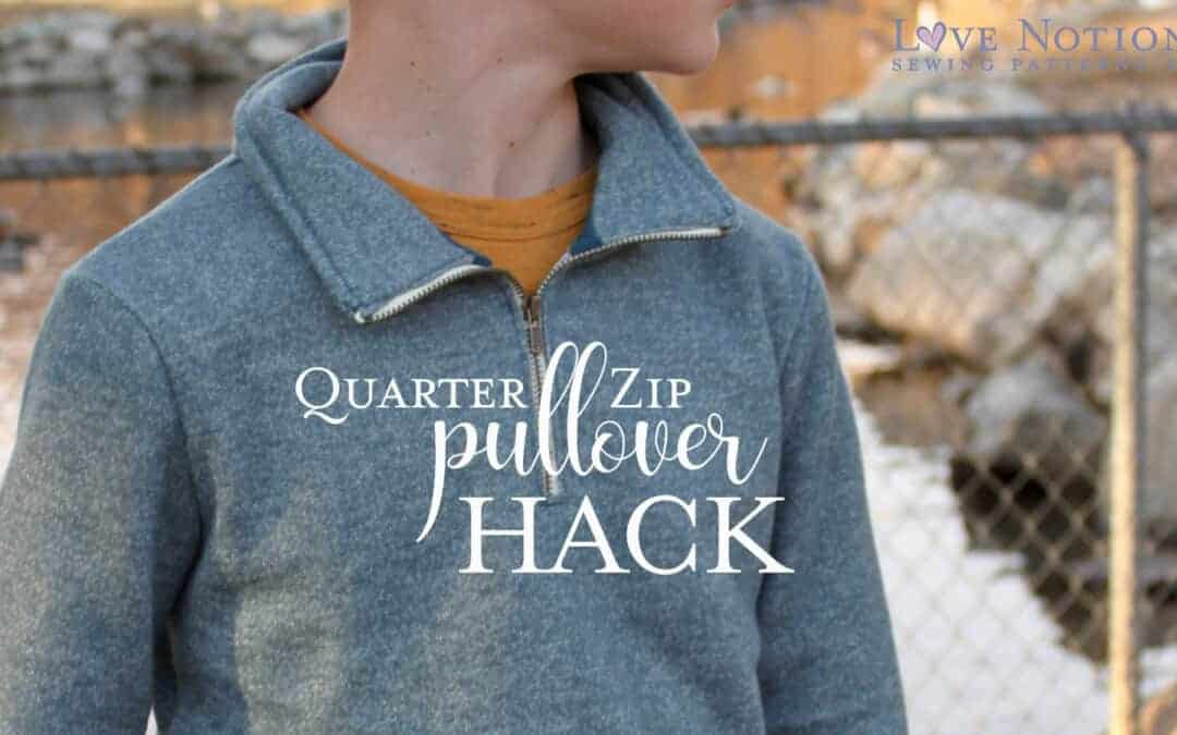 Quarter Zip Pullover: North Star and Navigator Hack