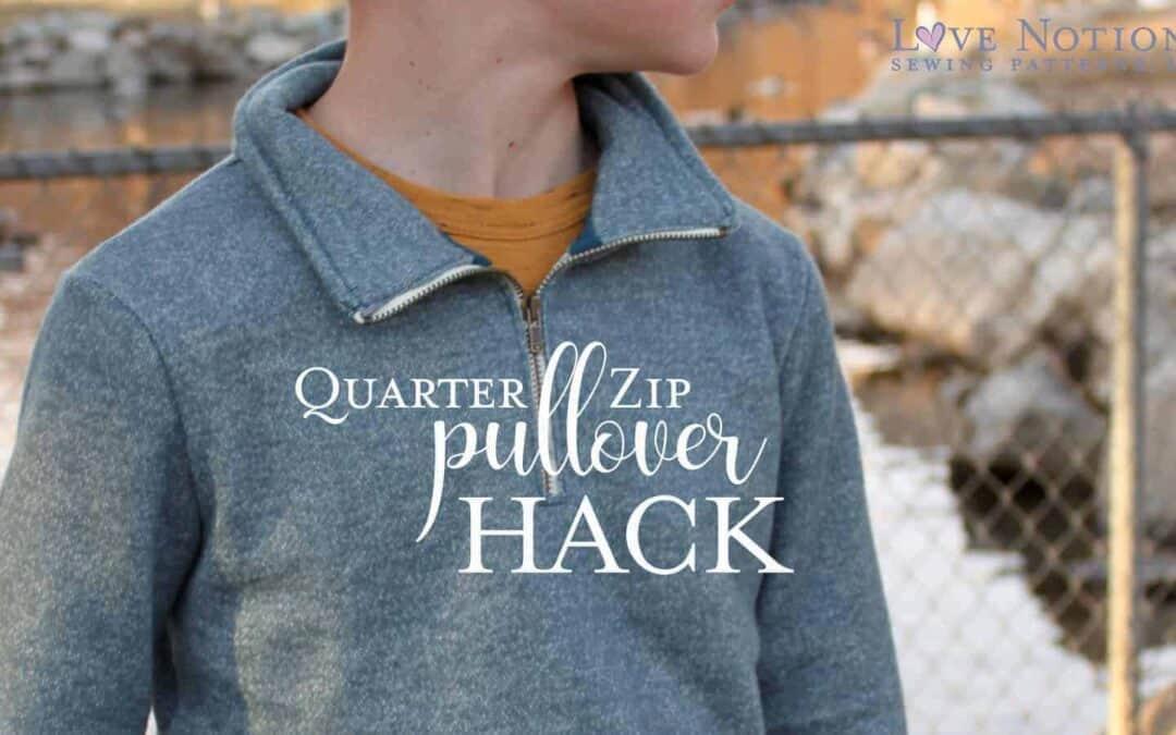 Quarter Zip Pullover: North Star and Navigator Hack