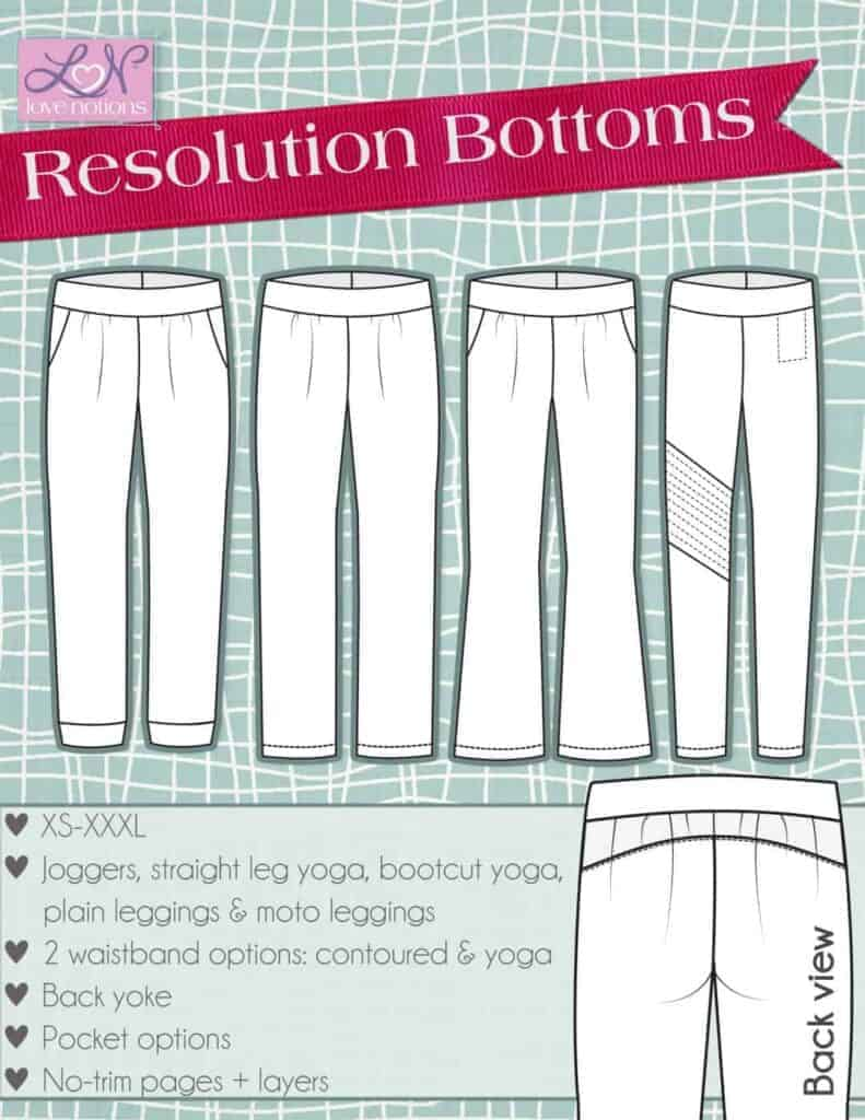 resolution bottoms cover