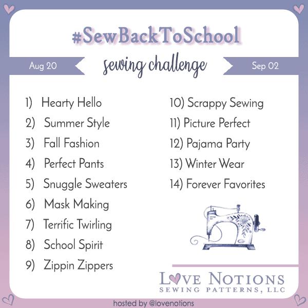 sew back to school