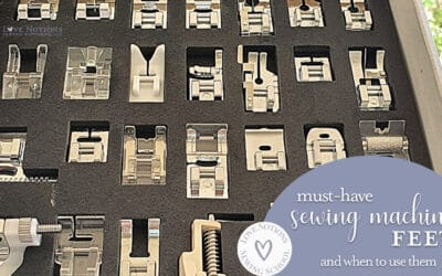 The Ultimate Guide to Sewing Machine Feet