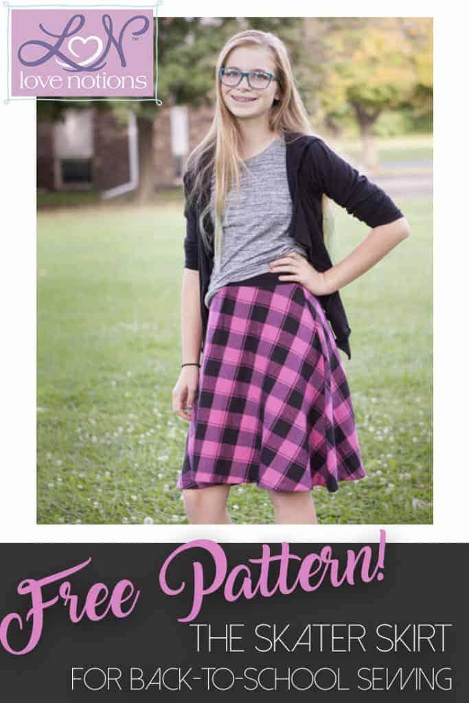 Skater Skirt Free Pattern