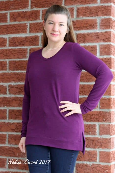 Terra Tunic scoop neck