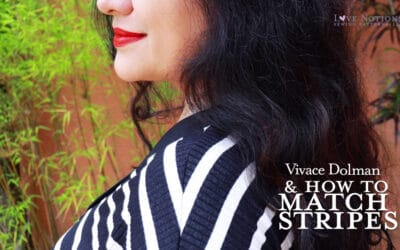 Vivace Dolman + How to Match Stripes