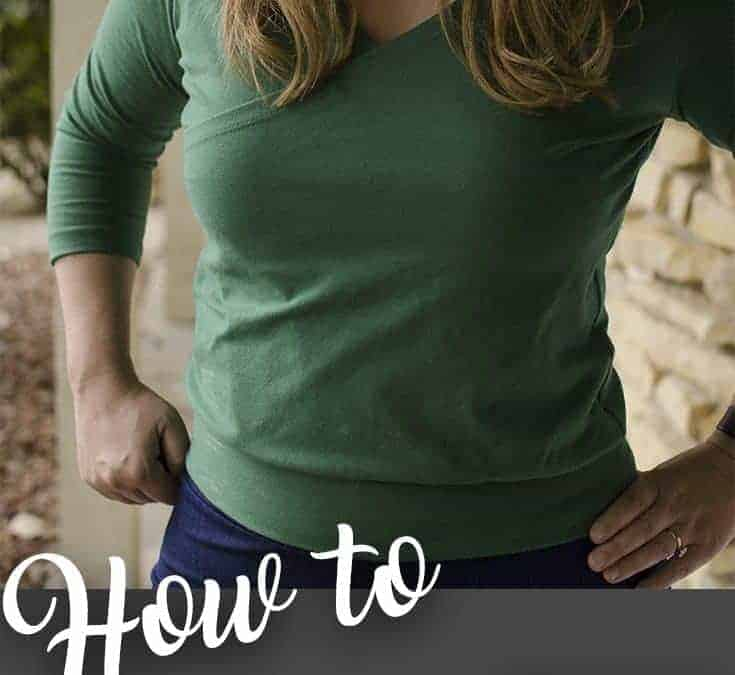 Feature Friday: Willow Wrap Top & bonus pattern hack