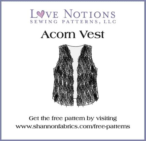 acorn vest