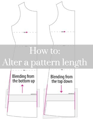 Pattern altering for height