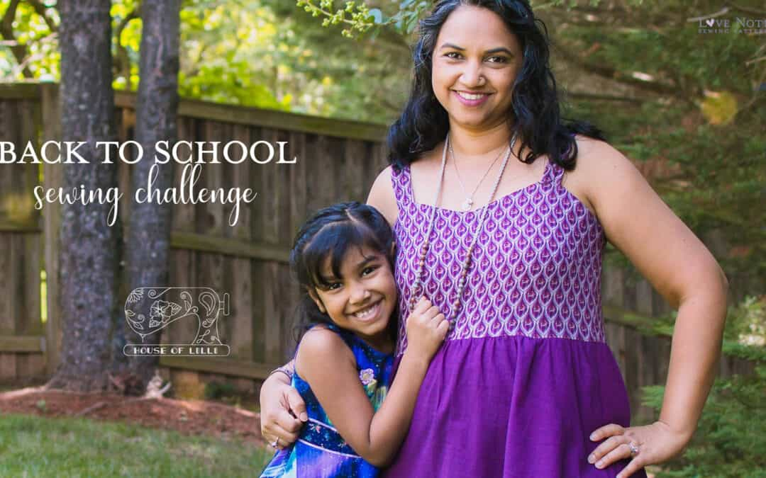 Sew Back to School Sewing Challenge!