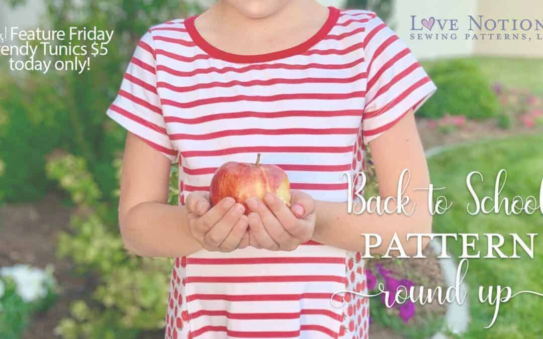 Back to School Pattern Round Up