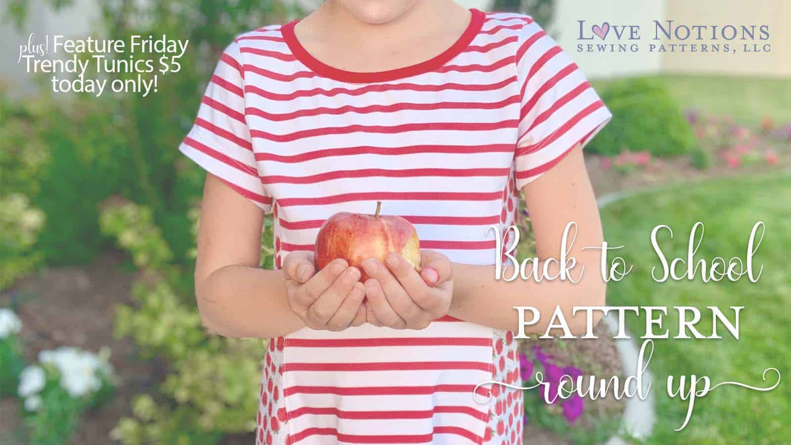 trendy tunic feature, back to school