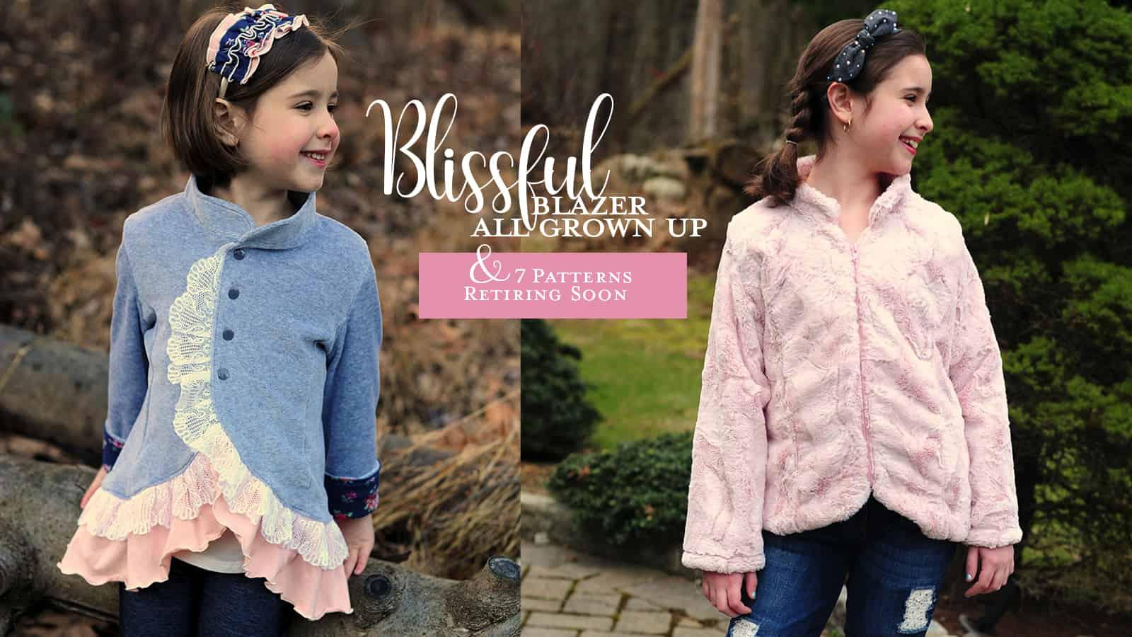 blissful blazer zip
