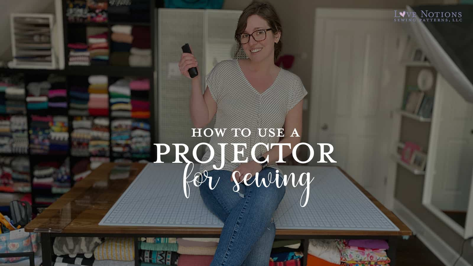 projector sewing